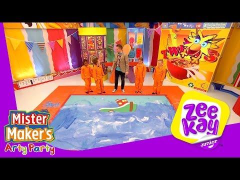 Splish, Splash, Splosh | Mister Maker's Arty Party | ZeeKay Junior
