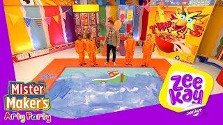 Splish, Splash, Splosh   Mister Maker's Arty Party   ZeeKay Junior