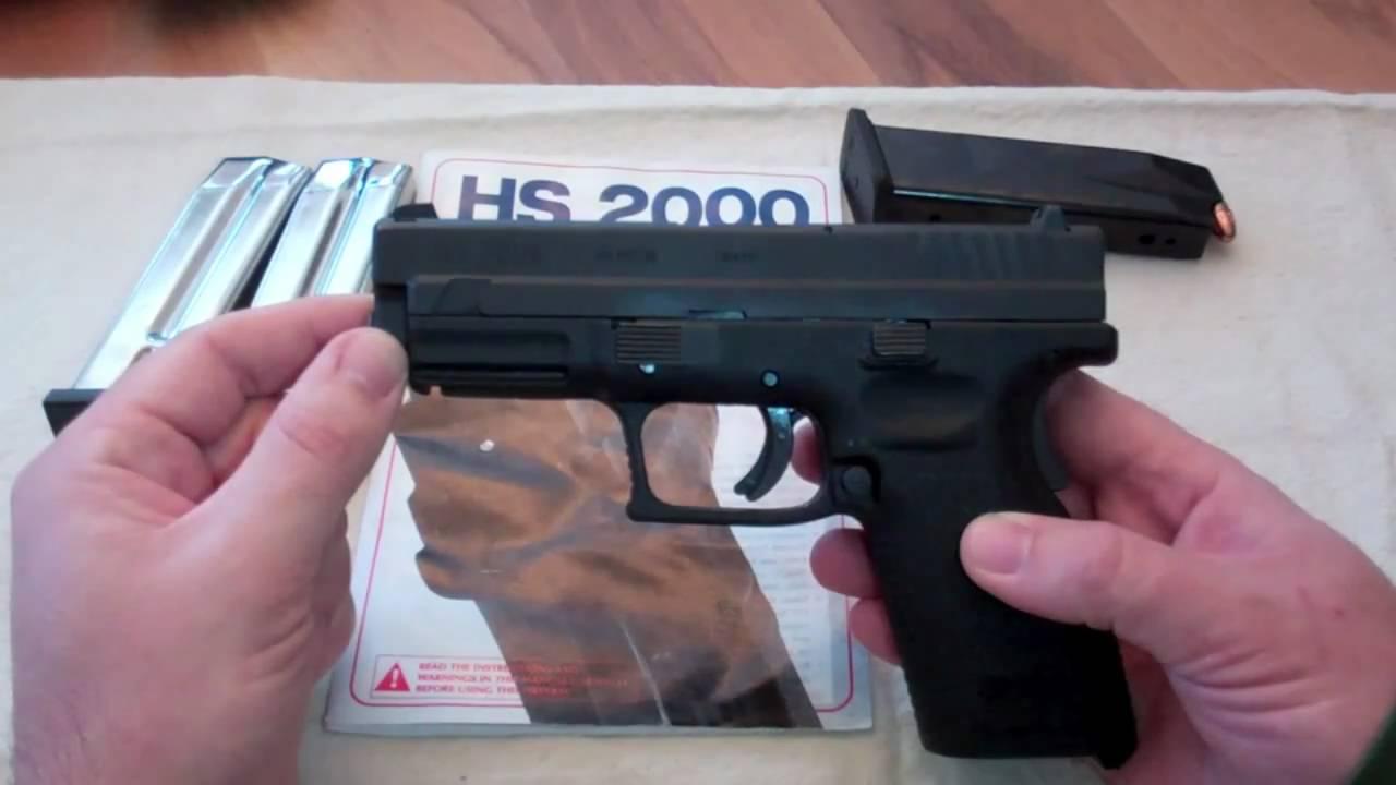 HS-9 SUB-COMPACT cal 9X19 3 pipa - HS Vapen - Handguns