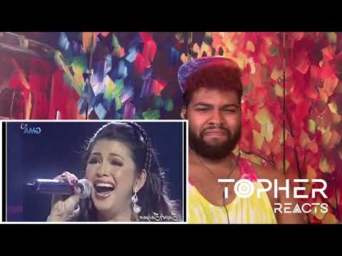 Regine Velasquez - What Kind Of Fool Am I? (Reaction) | Topher Reacts