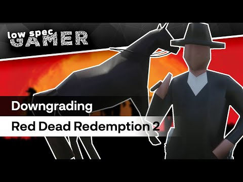 Here's what Red Dead Redemption 2 looks like on lower than the lowest settings | PC Gamer