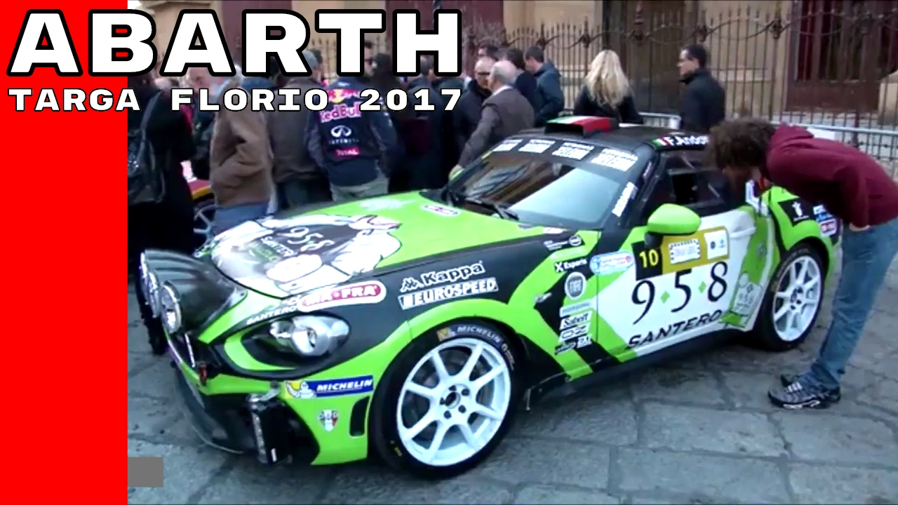 Targa Florio 2017 With Fiat Abarth 124 Spider Rally Youtube