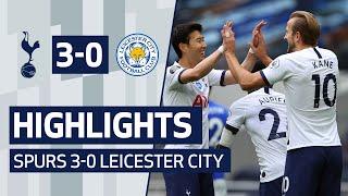 Highlights | Spurs 3-0 Leicester City