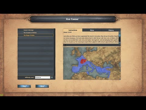 Age Of Empires Definitive Edition - Ave Caesar - The Siege Of Alesia