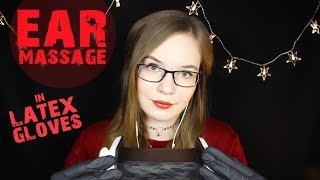 BEST Sleep Aid 🌟 Ear Massage & Cupping in Latex Gloves 🌟 No Talking Binaural HD ASMR