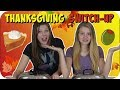 SWITCH UP CHALLENGE || THANKSGIVING EDITION || Taylor and Vanessa