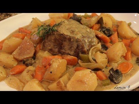 Easy Slow Cooker Beef Pot Roast   Roast And Potato Recipe  Episode 122