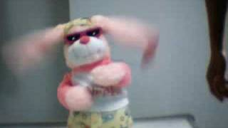 Singing and Dancing Music Rabbit Soft Doll