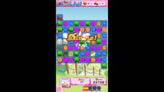 Candy Crush Saga Level 593 - NO BOOSTERS