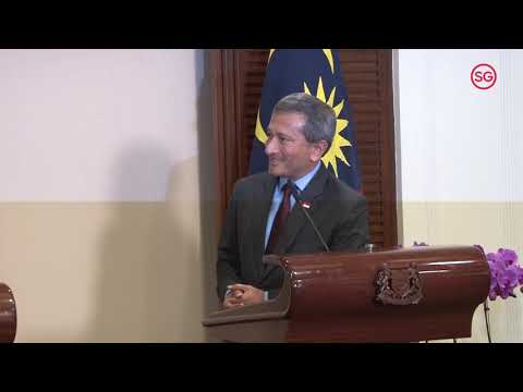 Joint Press Conference by Singapore and Malaysia's Foreign Affairs Ministers