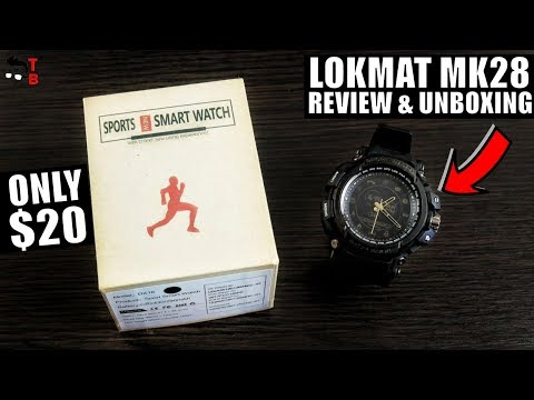 LOKMAT MK28 REVIEW: 12 Months Battery Life! Is This Really Smartwatch?