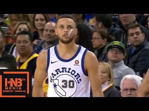 Golden State Warriors vs Atlanta Hawks 1st Half Highlights / March 23 / 2017-18 NBA Season