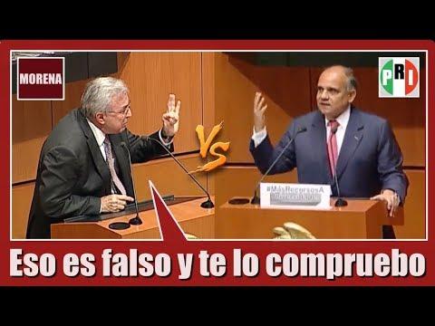Sen. Rubén Rocha (MORENA) VS Sen. Manuel Añorve (PRI)