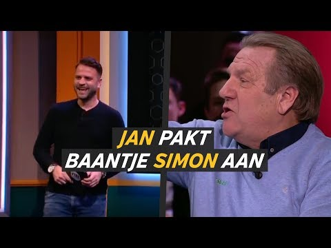 Jan pakt Simon aan: 'Waar heb je die gozer voor nodig?' - VTBL