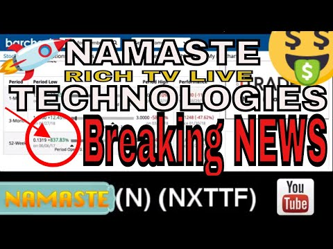 NAMASTE TECHNOLOGIES INC. (N) (NXTTF) record-breaking quarter sales of $5.6 million 195% increase