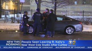 Keys Stolen From Rental Car Outside R. Kelly Studio