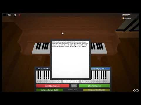 Canon In D Roblox Piano Sheets Youtube