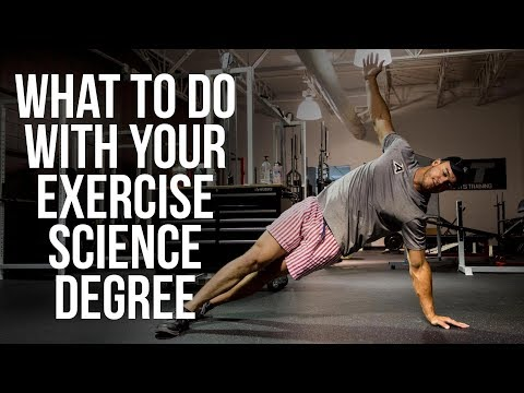 What to do with your exercise science degree