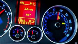 vw gti 2007 mkv w/AWE K04 turbo kit 0-120mph