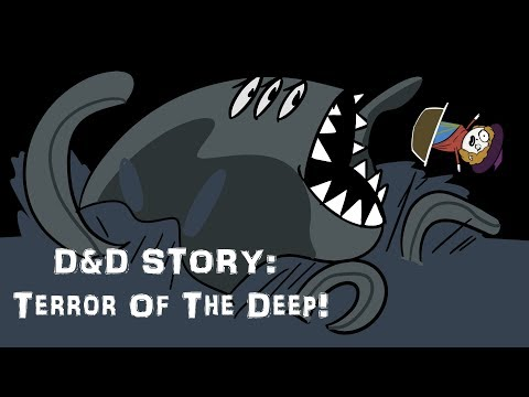 D&D Story: Terror Of The Deep! (module SPOILERS!)