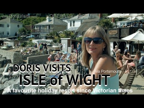 Doris Visits the Isle Of Wight, the UK holiday resort with a microclimate