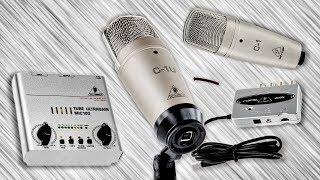 USB-микрофон или конденсаторный студийный микрофон: что выбрать?(, 2013-07-22T00:55:09.000Z)