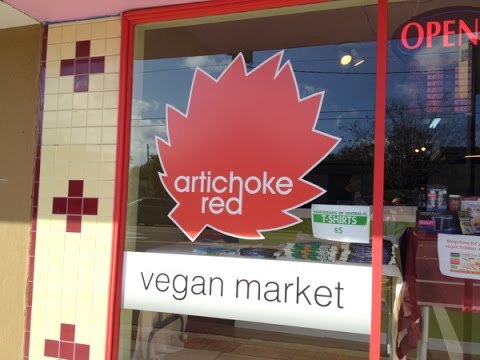 Orlando's Only Vegan Market - Red Artichoke
