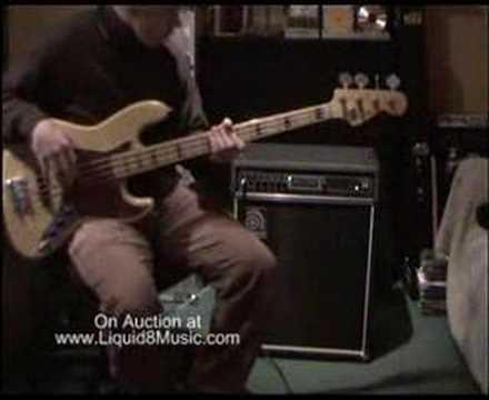 Ampeg B3 Bass Amp No Reserve on Ebay