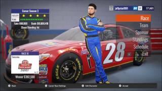 NASCAR heat revolution Race at Sonoma Raceway