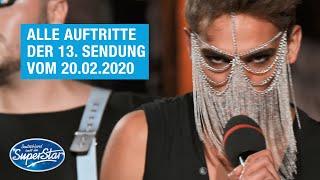 Alle Auftritte der 13. Sendung vom 20.02.2021 | DSDS 2021