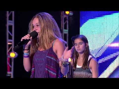 Boot Camp 2  Carly Rose Sonenclar vs. Beatrice Miller (Pumped up Kikcs) - THE X FACTOR USA