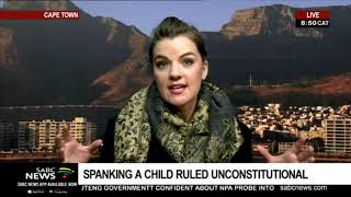 REACTION: ConCourt rules that spanking a child is unconstitutional