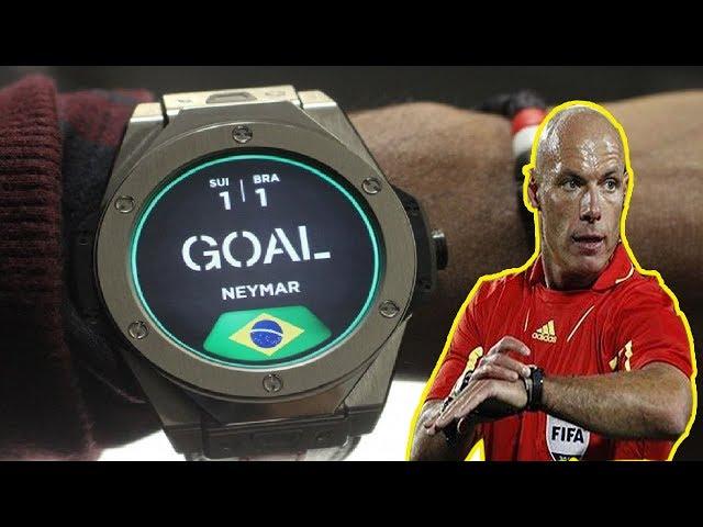 Đồng hồ thông minh dành cho trọng tài World Cup 2018 có gì HOT ??