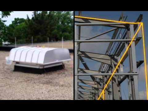 Commercial Lightning Protection System Installation Youtube