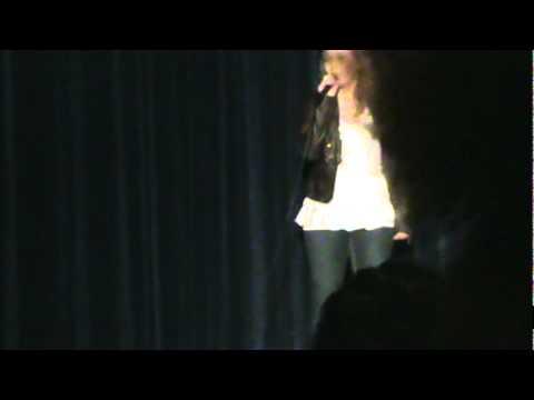 Erica Carroll singing Mean