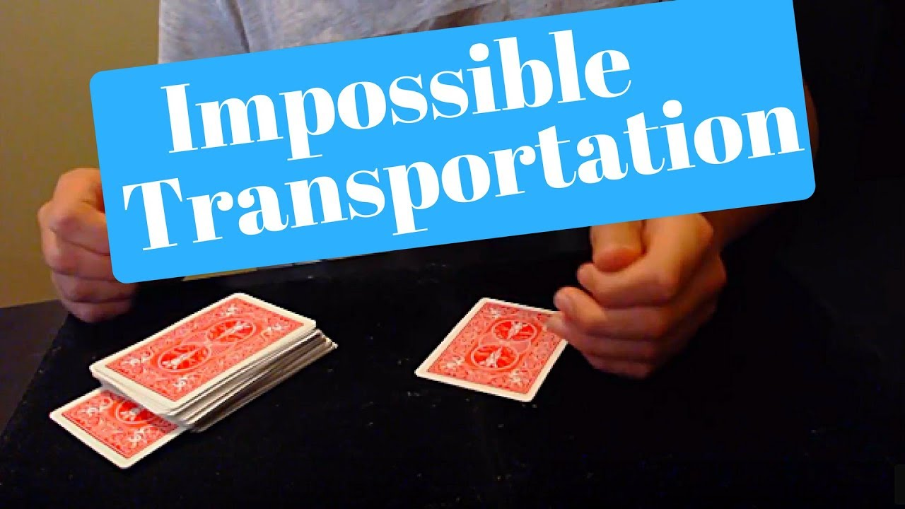 super hard card magic trick  youtube