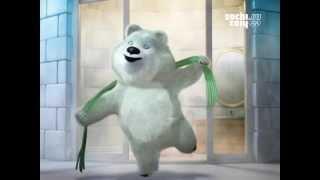 Талисманы Олимпиады 2014 - Белый медведь