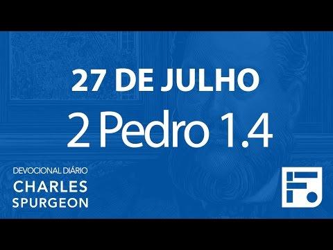 27 de julho –  Devocional Diário CHARLES SPURGEON #209