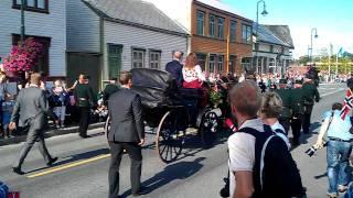 H.M. Kong Harald Levanger Sentrum 26.08.2011