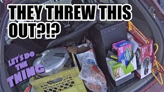 Epic Dumpster Diving Video!