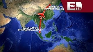 Intensifican búsqueda de avión de Malasia desaparecido misteriosamente/ Global Paola Barquet