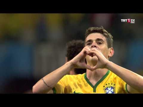 Brazil vs Croatia 3-1  Oscar  very Nice goalll