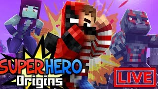 SHE WANTS WHAT??? Minecraft Super Hero Origins LIVE #16.2 (Modded Minecraft Roleplay)