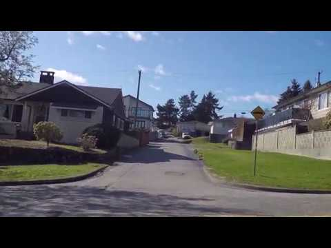 Streets of VANCOUVER BC Canada - Houses in Fraserview Area / Golf Course - Spring 2017