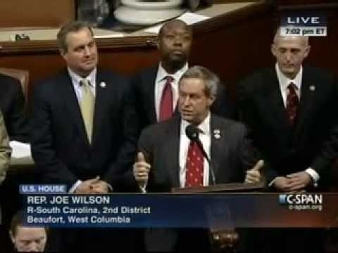 Congressman Jeff Duncan and Delegation honor Senator-Designate Tim Scott 12/18/2012