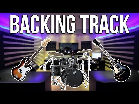 How To Make A Backing Track!