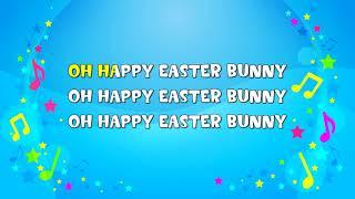 Happy Easter Bunny | Sing A Long | Nursery Rhyme | KiddieOK