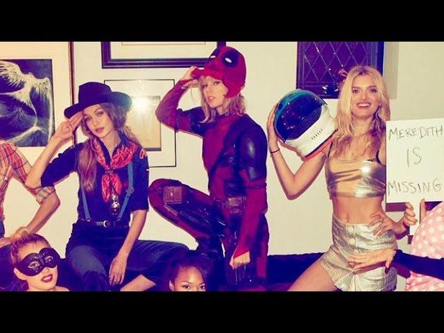 Celebrating Halloween In Style Taylor Swift Borrows Deadpool Costume From Ryan Reynolds Itech Post