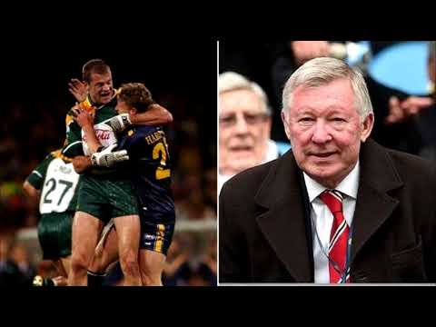 Joe Brolly tells Eamon Dunphy the hilarious story when Anthony Tohill got a trial at Man Utd