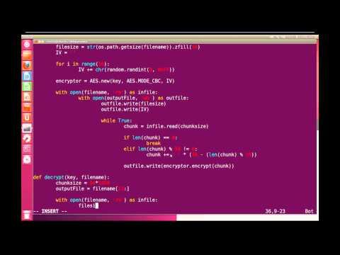 Python Advanced Tutorial 10 - PyCrypto